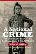 Cover of book entitled: A National Crime